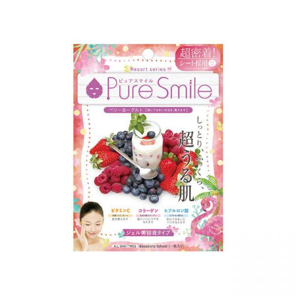 Pure Smile PURE SMILE Essence Mask Berry Yogurt 1sheet