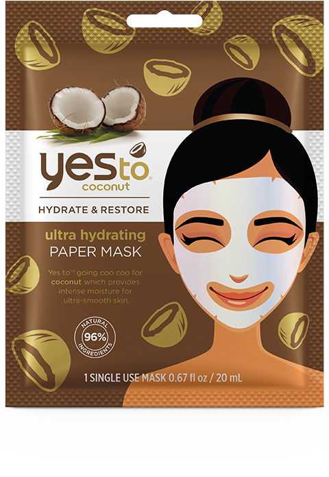 yesto - Ultra Hydrating Paper Mask – Single Use